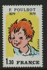 France Stamp 1979 SG 2307 Street Urchin  Francisque Poulbot Unmounted Mint MNH