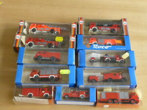 1/87 11 boxed various fire engine models