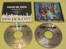 Color Me Badd I Wanna Sex You Up & All 4 Love – 2 CD Singles R&B Swing Hip Hop