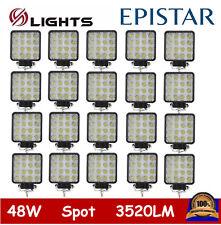 20PCS 48W SPOT LED Off road Work Light Lamp 12V 24V car boat Truck Driving UTE