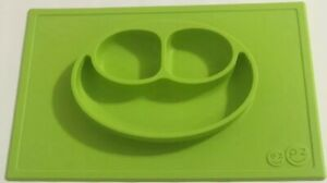 The Original Kids EZPZ Mini Mat Lime for Kitchen Easy Clean Childrens tray plate