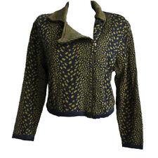 Eva & Claudi Damen Pullover Sweater Gr.S (DE 36) 100% Wolle Strickjacke 93758