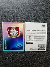 PANINI  CHAMPIONS LEAGUE 2011/12 NR. 311 BADGE BAYER 04 LEVERKUSEN