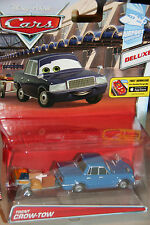 "DISNEY PIXAR CARS 2 ""TRENT CROW-TOW"" NEW IN PACKAGE, DELUXE MODEL, SHIP WW"