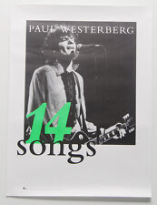 """PAUL WESTERBERG """"14 Songs"""" PROMO Poster REPLACEMENTS 18""""x24"""""""