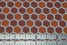 Dollhouse Miniature Floor Terracotta Vinyl FF60693  1:12 Scale
