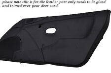BLACK STITCH 2X DOOR CARD LEATHER SKIN COVERS FITS MAZDA MX5 MK2 MIATA 98-05