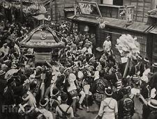 1929 JAPAN Original Photo Gravure SHINTO FESTIVAL Religion Spiritual Art ~ BAHNE