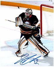 Buffalo Sabres JHONAS ENROTH Signed Autographed 8x10 Pic B