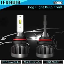 Set of 2 9006 LED Fog Light Bulb For 2002-2006 Acura MDX 1991-2007 BMW 525i KU27