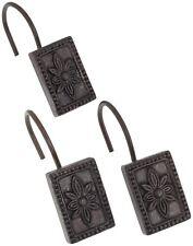 "Carnation Home Fashions ""Carlisle"" shower curtain hooks, set of 12 CAR-PHP-CL/67"