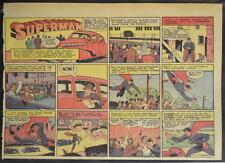 SUPERMAN SUNDAY COMIC STRIP #13 Jan 28, 1940 2/3 FULL Page DC Comics RARE