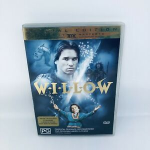 WILLOW Special Edition DVD Region 4 Classic Movie Very Good Condition