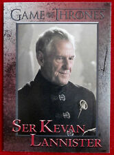 GAME OF THRONES - Season 6 - Card #77 - SER KEVAN LANNISTER - Rittenhouse 2017