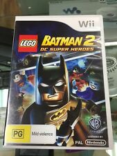 LEGO Batman 2 DC Super Heroes Wii