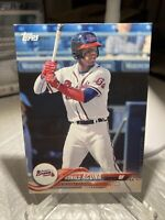 2018 Topps Pro Debut Ronald Acuna Card #1  Braves PSA Possible PWE Tracked