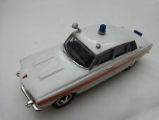 1/43 CORGI VANGUARDS VA06510 ROVER 3500 METROPOLITAN POLICE TRAFFIC CAR