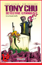 TONY CHU 11 T11 TPB Hardcover intégrale Delcourt Détective Cannibale # NEUF #