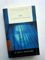 She : A History of Adventure by H. Rider Haggard Modern Library Paperback - 2002