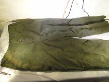 M-1951 M51 AUTHENTIC Vintage Korean War Trouser pants Olive Drab Green 31 X 27