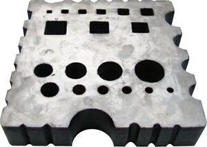BECMA Lochplatte, Schmiedeplatte, Richtplatte 30kg