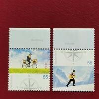 Alemania Federal año 2005 Mensajes de Correos Nº 2272 y 2273 MNH