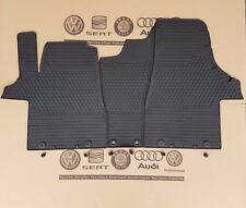 VW Bus T5 GP Facelift original Fußmatten T6 Gummimatten vorne floor rubber mats