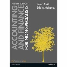 Accounting and Finance for Non-Specialists by Eddie McLaney, Peter Atrill...