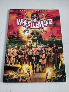 NEW WWE Wrestlemania 37 Official Program - NXT WWE Hall of Fame 2021 Event