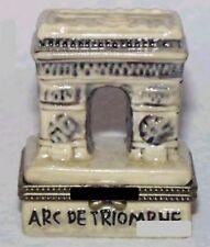 ARC de TRIOMPHE #1-Porcelain Hinged-Box..PARIS, FRANCE