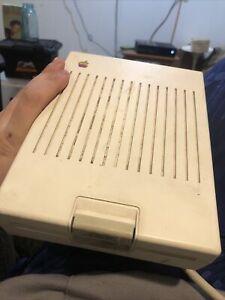 Apple IIc Computer External Floppy Disk Drive 5.25 Model A2M4050 a2m4050
