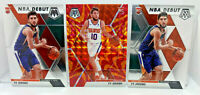 Ty Jerome 3 Card Lot 2019-20 Mosaic Reactive Orange Prizm & NBA Debut Rookies