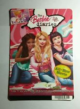 THE BARBIE DIARIES MOVIE MINI POSTER BACKER CARD (NOT A movie)