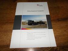 NORINCO Military Heavy Equipment Transporter Brochure Prospekt Catalogue
