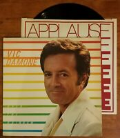 Vic Damone~Over The Rainbow, Vinyl LP 1982 Conducted by Norman Geller~NM/VG+
