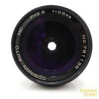 Cosinon Auto MC 28mm f/2.8 Prime Lens - Pentax K Mount - Fully Working #LS-2404
