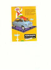 AK - post card - Postkarte -- ZUENDAPP JANUS 750  -- Automobil  - Geschichte