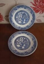 Blue Earthenware Staffordshire Pottery