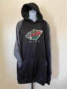 New Minnesota Wild Womens Size L Large Green Full Zip Jacket