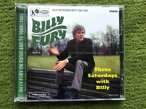 BILLY FURY 'Three Saturdays With Billy' CD TOP SOUNDS BBC sessions 1968/1969