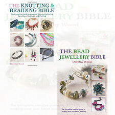 Dorothy Wood Beaded 2 Books Collection Set (The Bead Jewellery Bible and  more)