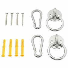 Hammock Hooks Hanging Straps Hammock 550lbs/250kg Heavy Duty Carabiner Hooks
