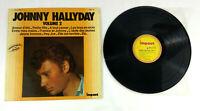 Schallplatte 33 Upm Johnny Hallyday Band 2 Impact LP Et Tracking