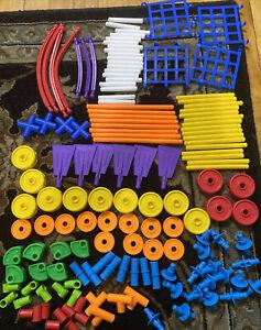 TinkerToy Tinker Toy 138 pc Education Preschool Kids Building Toys EUC
