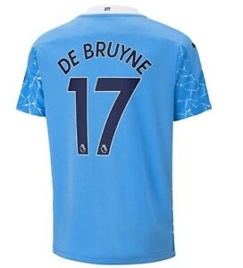 De Bruyne 2020-2021 Home Soccer Jersey