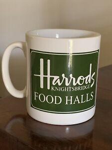 Collectible London HARRODS KNIGHTSBRIDGE Food Halls MUG Souvenir ENGLAND