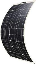 Pannello Solare Fotovoltaico Flessibile 12V 100W Saronic per Camper Tende Barche