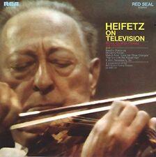 JASCHA HEIFETZ-HEIFETZ ON TELEVISION -JAPAN CD B63