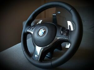 BMW E46 M3 SMG Steering Wheel , Reconditioned , COMPLETE