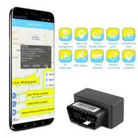 OBD II ODB 2 Car GPS Tracker Locator Web Fleet Management System Burglar AlarmFm